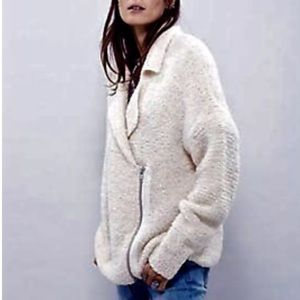 Free People Addicted To Love Zip Sweater